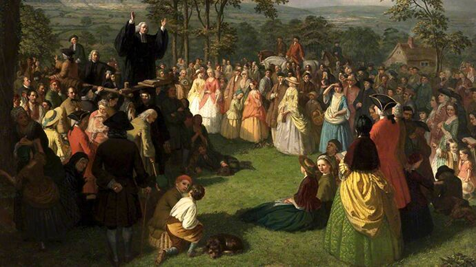 By linking the choice of new birth with his audience's choice of a new American identity, British evangelist George Whitefield provided a common American experience that unified diverse colonists who lacked a common identity